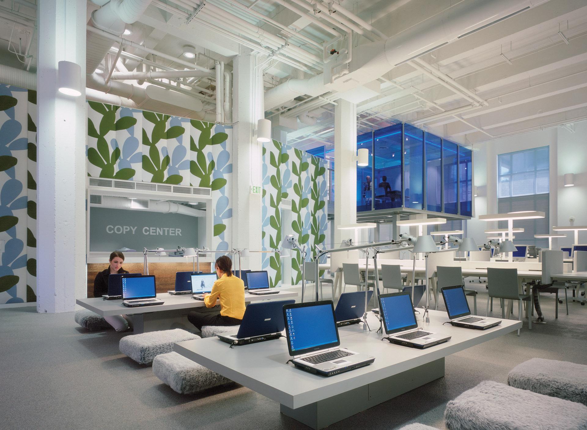 Clive Wilkinson Architects Fidm Annex Studio