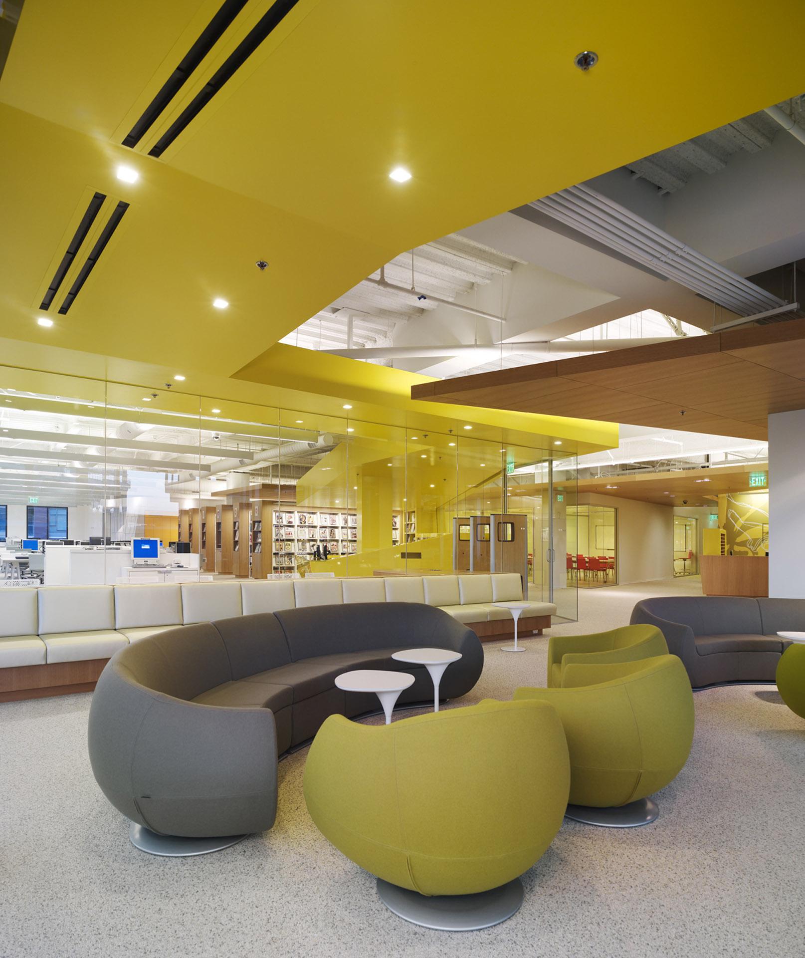 Clive Wilkinson Architects Fidm San Diego