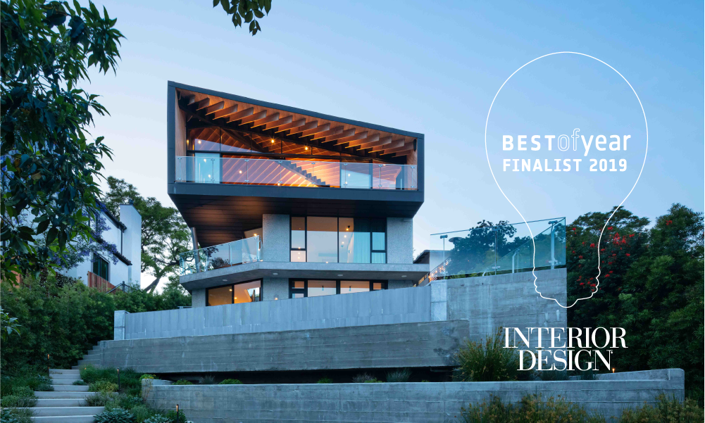 Clive Wilkinson Architects Just In West Los Angeles Residence Named Finalist In Best Of Year Awards